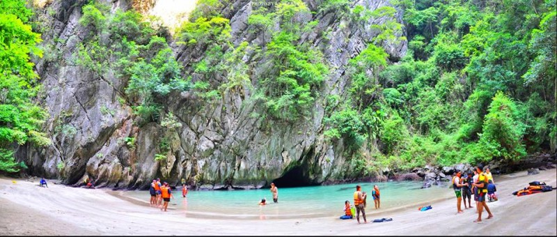 Emerald cave