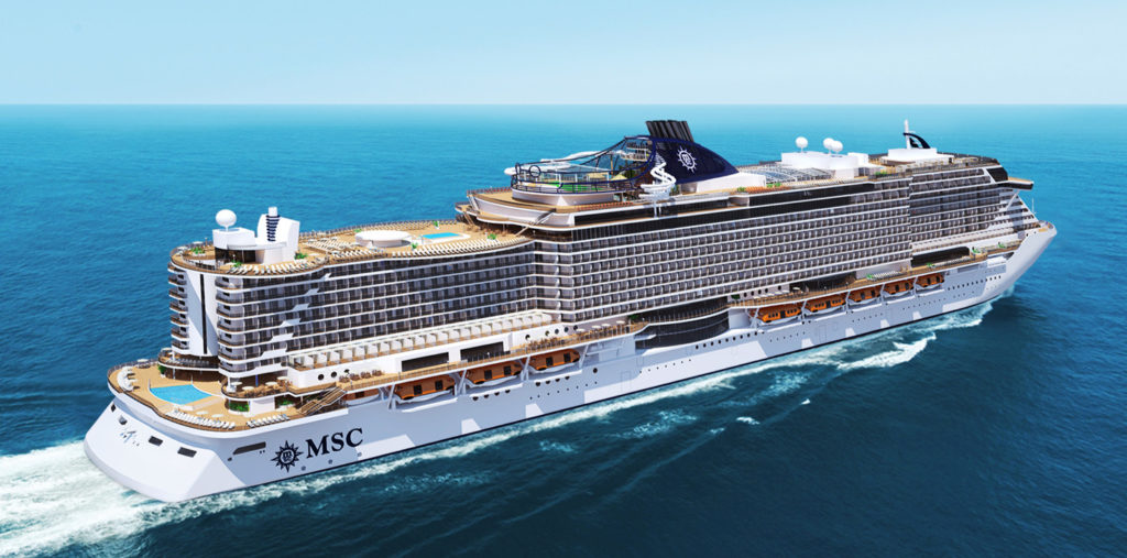 Круизы MSC Seaside