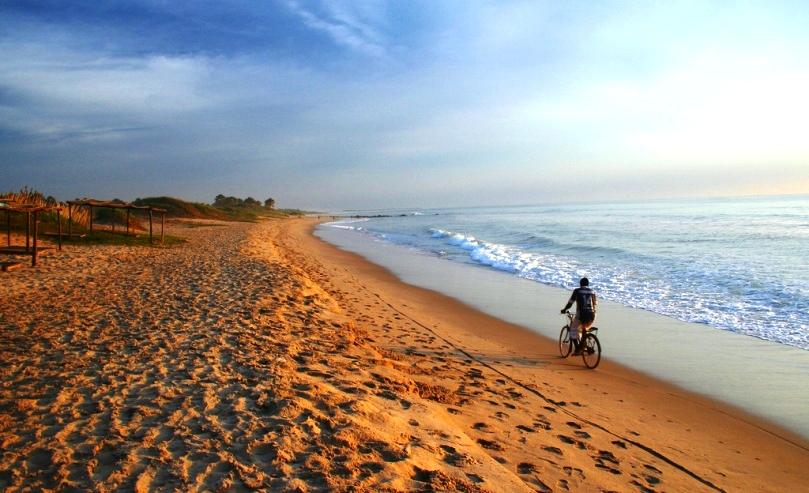Гамбия пляж
