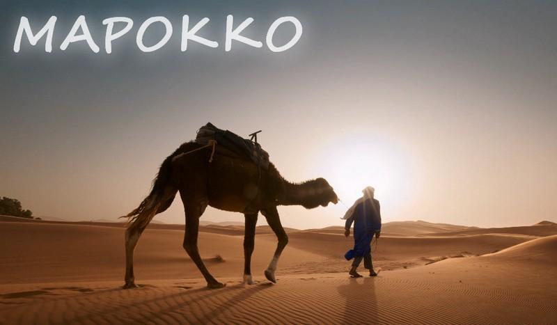 Марокко пустыня